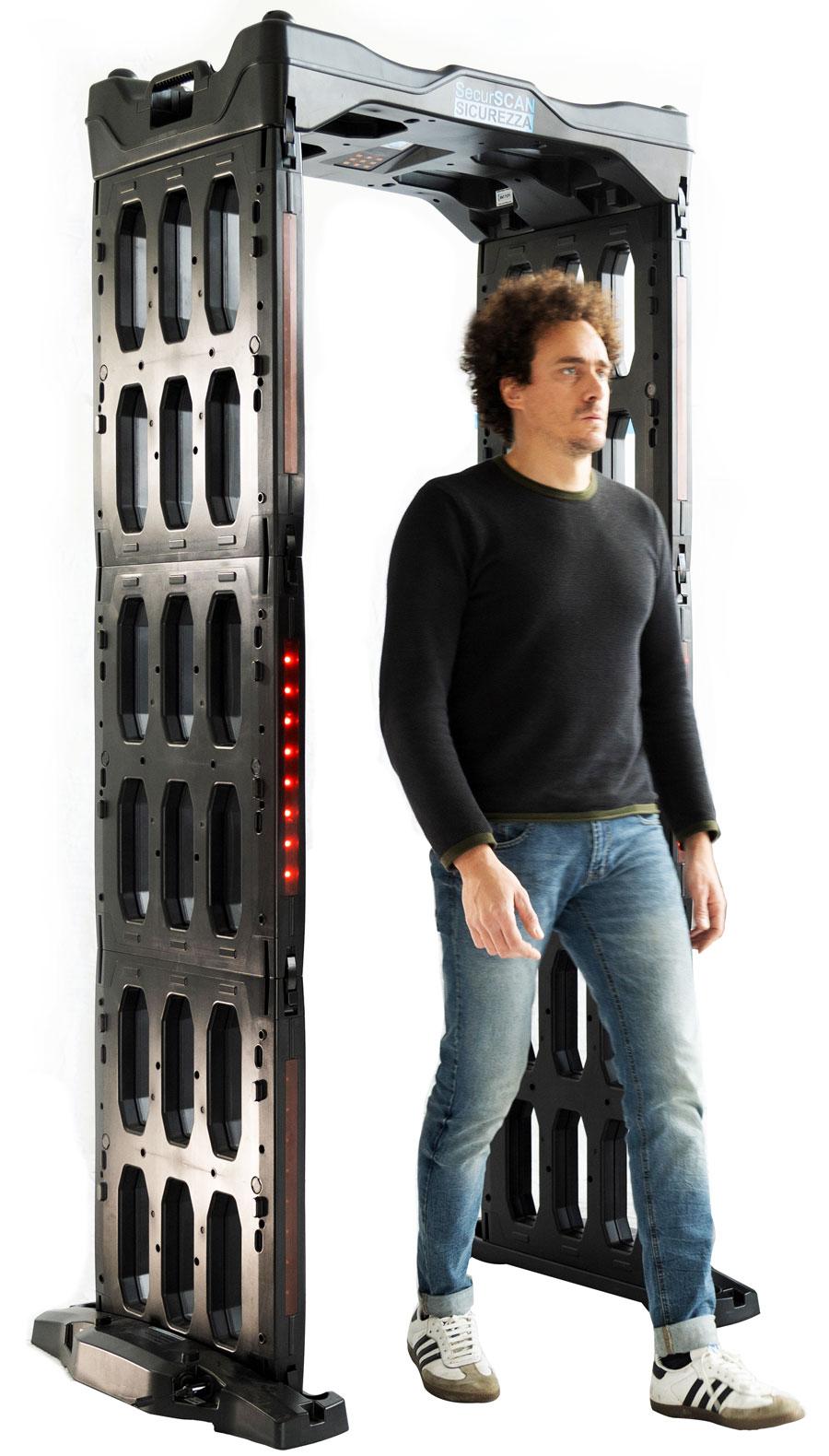 SecurSCAN® metal detector e raggi x per la sicurezza